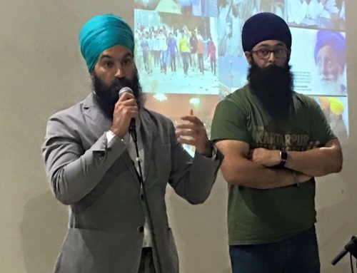 Sikh Leadership Forum with MPP Jagmeet Singh & Moninder Singh