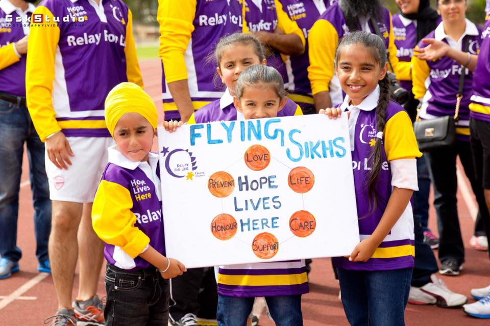 Flying Sikhs Whittlesea Relay for life 2017
