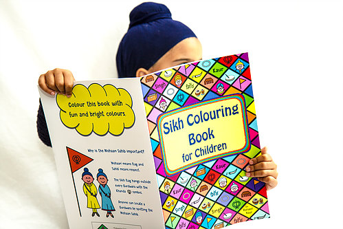 Sikh colouring book Ranjeet Kaur